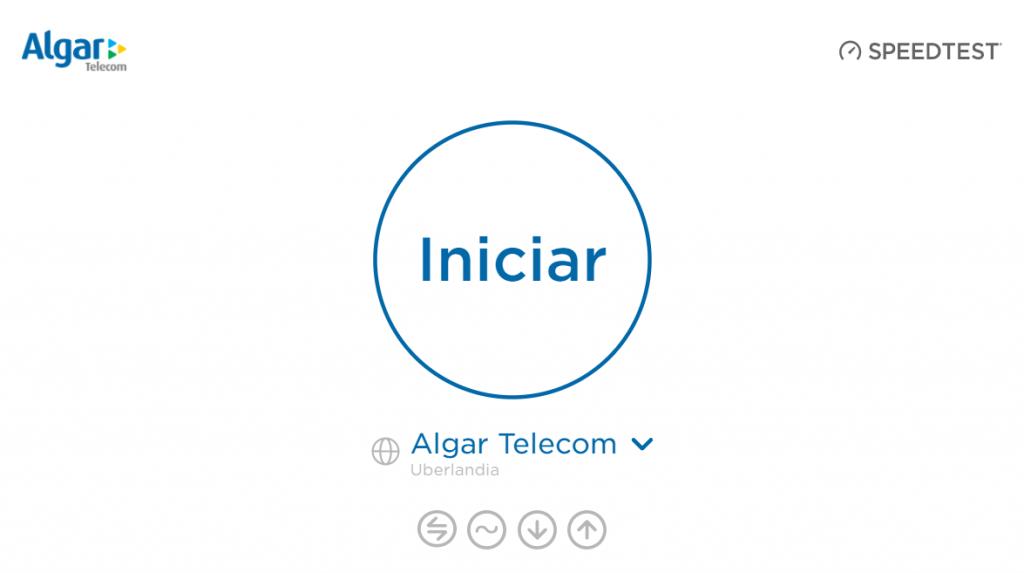 Teste de Velocidade Algar Telecom