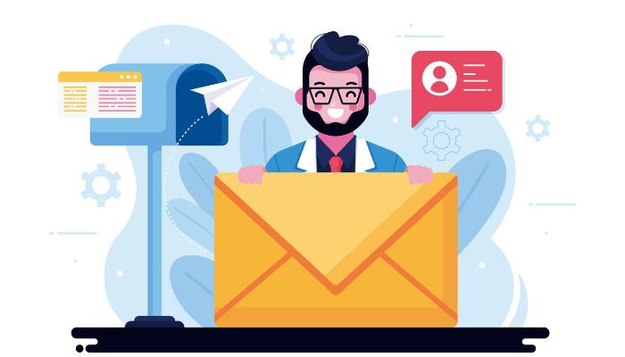 como enviar e-mail